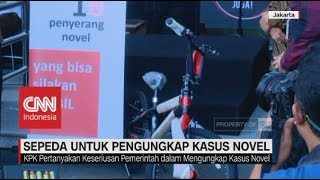 Tak Hanya Presiden Jokowi, KPK Juga Siapkan Sepeda Bagi Pengungkap Kasus Novel Baswedan