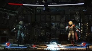 Injustice 2: Legendary Edition Supergirl Super Move Combo