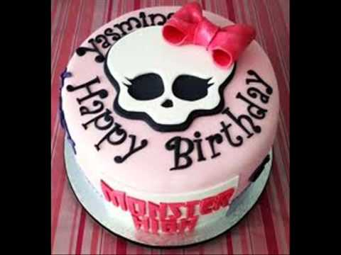 pasteles y tortas de monster high - YouTube