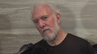 Gregg Popovich interview before the game 2 against the Warriors