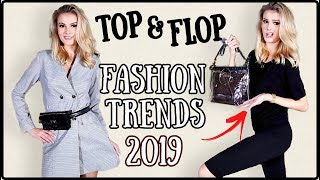 10 FASHION TRENDS für 2019 im Live Test I Fashion Top und Flops I Cindy Jane