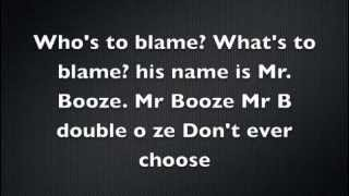 Family Guy- Mr. Booze Lyrics