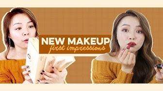 Cushion Xịn Nhất Trinh Từng Dùng! ♡ New Makeup First Impressions ♡ TrinhPham