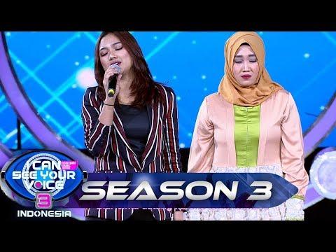 Duet Terbaik!! MISS EKSPRESI feat Marion Idol [RISALAH HATI] - I Can See Your Voice (23/6)