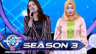 Duet Terbaik!! MISS EKSPRESI feat Marion Idol [RISALAH HATI] - I Can See Your Voice (23/6)