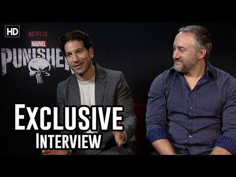 Jon Bernthal & Steve Lightfoot  The Punisher Exclusive
