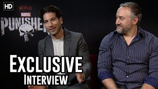 Jon Bernthal & Steve Lightfoot | The Punisher Exclusive Interview