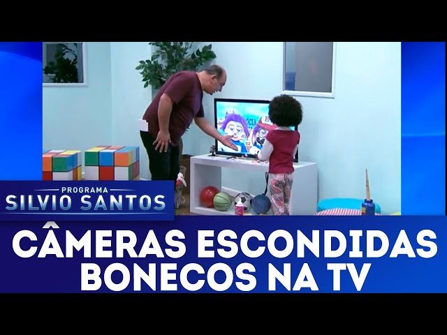 Bonecos na TV | Câmeras Escondidas (16/12/18)