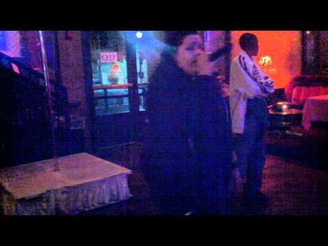 Karoake Winner last night at Wasted Velvet night club!