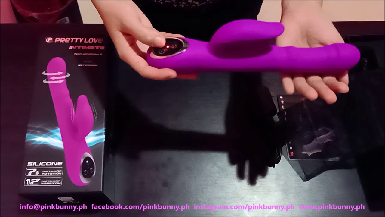 Cebu Sex Toys Shop / Pink Bunny / Rabbit Vibrator / Pretty Love Intimate