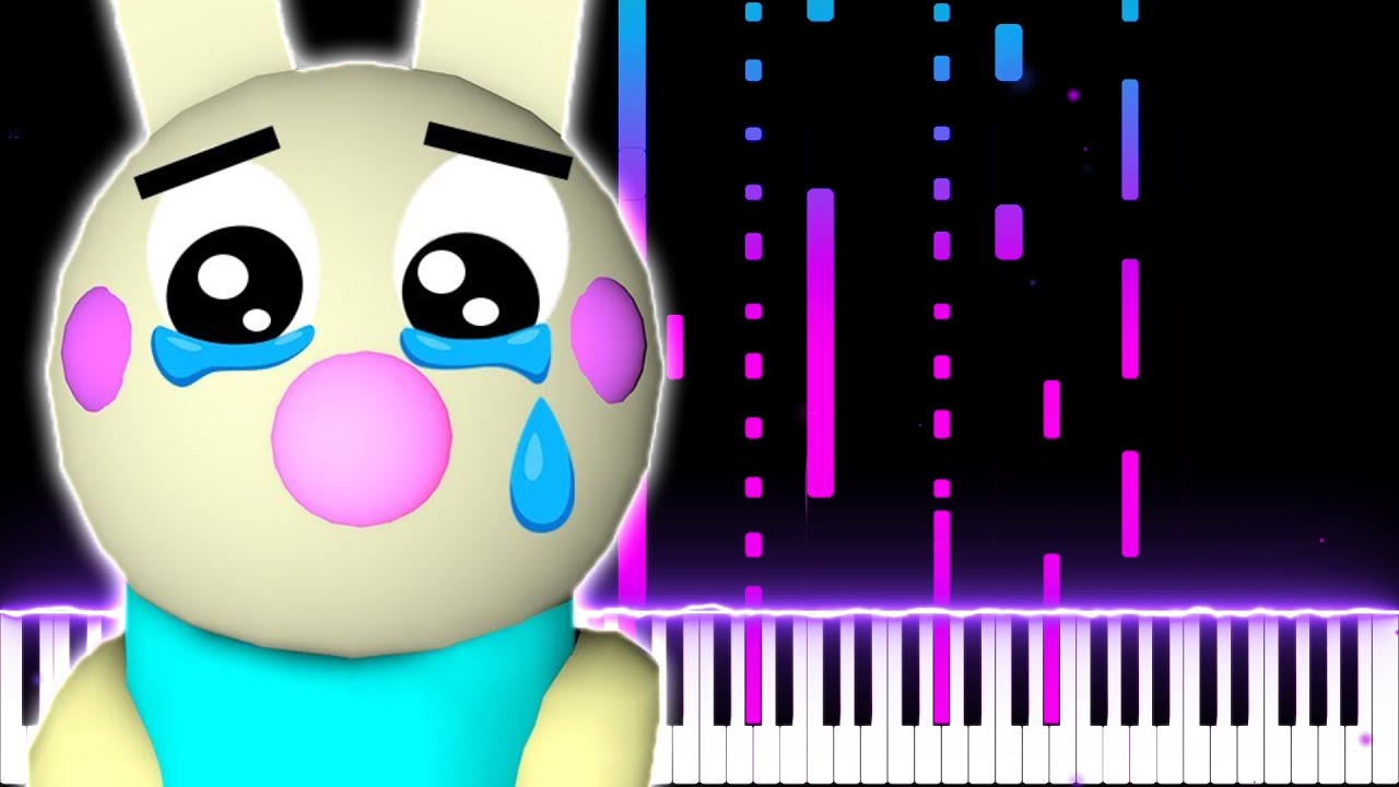 Bunny Theme But I Made A Sad Song For Bunny Piggy Roblox Youtube