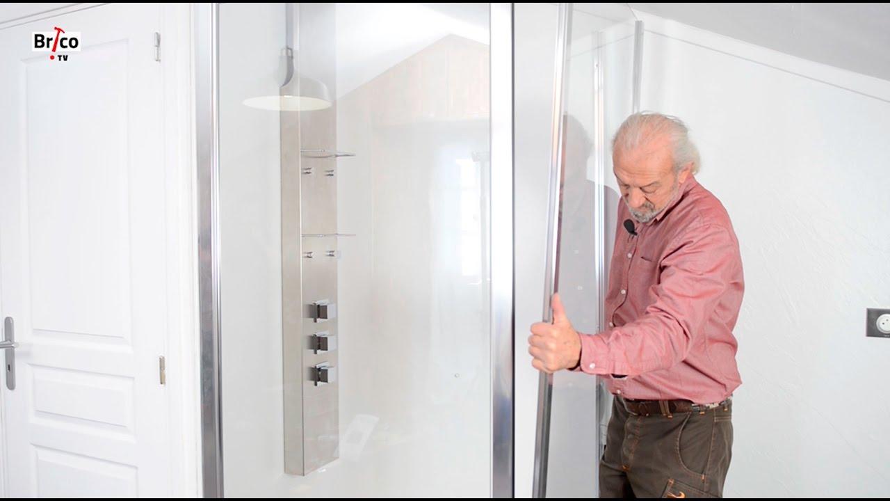 poser une paroi de douche tuto bricolage avec robert pour le montage d une paroi de douche