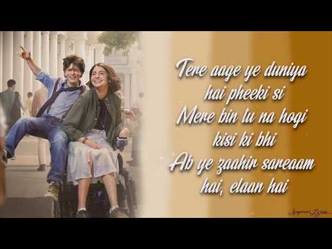 Mere Naam Tu - ZERO (Lyrics)   Shah Rukh Khan   Anushka Sharma   Abhay Jodhpurkar   Ajay-Atul
