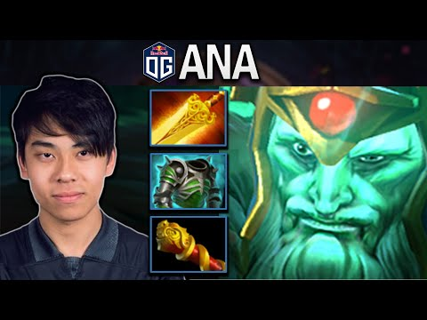 OG.ANA WRAITH KING WITH 50K DAMAGE - DOTA 2 7.25 GAMEPLAY