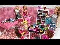 Barbie doll TOY STORE! Haley and Ally!