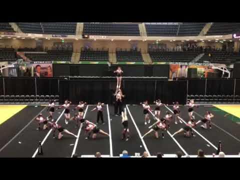 JDHS (Juneau Douglas High School) 2017-2018 cheer team state routine