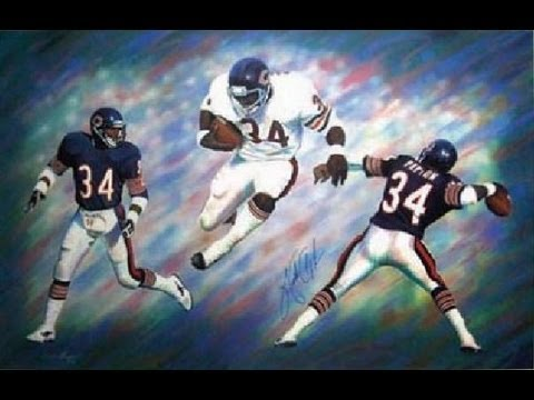 Walter Payton- Best Running Back Ever