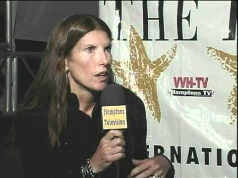 "Cathryn Collins director ""VLAST (Power)"" documentary at the Hamptons Film Festival on VVH-TV"