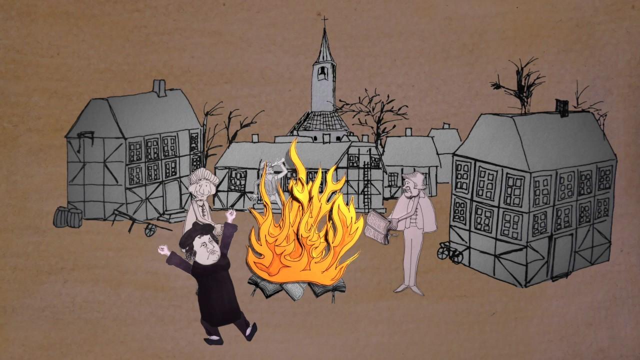 Reformation 1517-2017 -  hvad skete der lige der?
