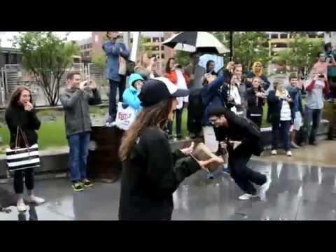 Kris & Ashlee's Marriage Proposal Flash Mob
