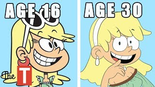 10 Loud House Characters ALL GROWN UP thumbnail