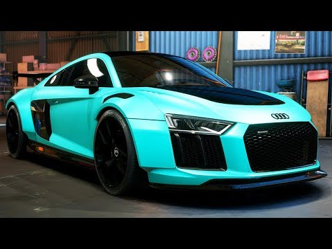 INSANE AUDI R8 BUILD! - Need for Speed: Payback - Part 31