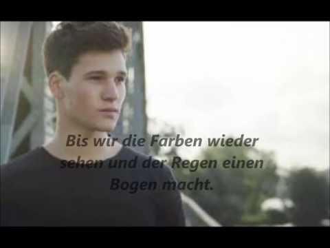 Wincent Weiss - Regenbogen/Lyrics on screen