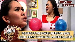 Download DENNY CAGUR PENCET PENCET BALON KARTIKA PUTRI, INI REAKSI KARTIKA PUTRI !  - D'KLINIK SHOW