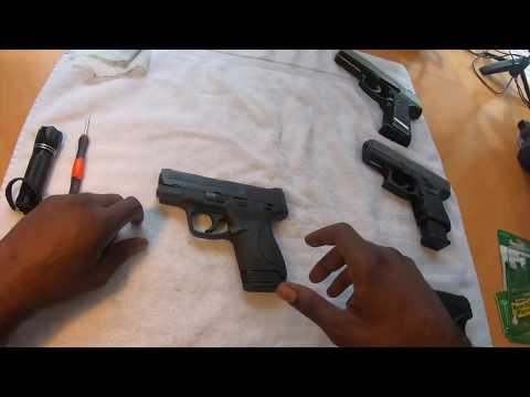 Smith & Wesson MP Shield 9mm Clean & Field Strip - Assembly and Disassembly