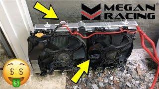 Megan Racing Radiator Review! Subaru WRX STi
