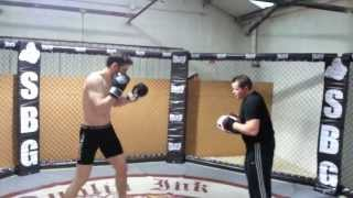 Chris Fields preparing for Cage Warriors 55: Fight Week Pt 1