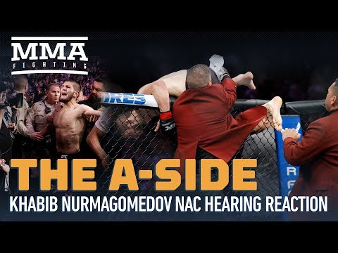 Khabib-McGregor UFC 229 Brawl Nevada Commission Hearing Reaction From The A-Side - MMA Fighting
