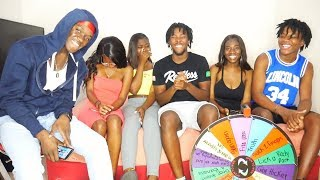 EXTREME Spin The Wheel w/ IG MODELS 😻! **DARE OR DARE**
