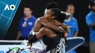 Match point for Serena Williams' 23rd Grand Slam title | Australian Open 2017
