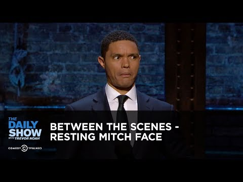 Between the Scenes – Resting Mitch Face: The Daily Show