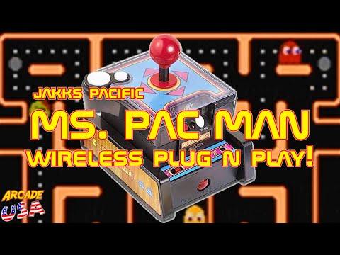Ms Pac Man Wireless Plug N Play (Jakks Pacific)