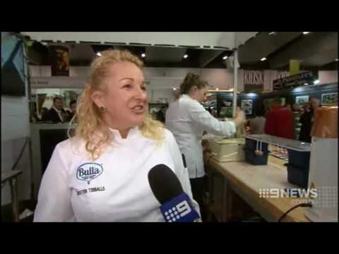 Fine Food Australia 2016 Channel 9 News