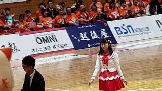NGT48 寺田陽菜 試合球贈呈セレモニー