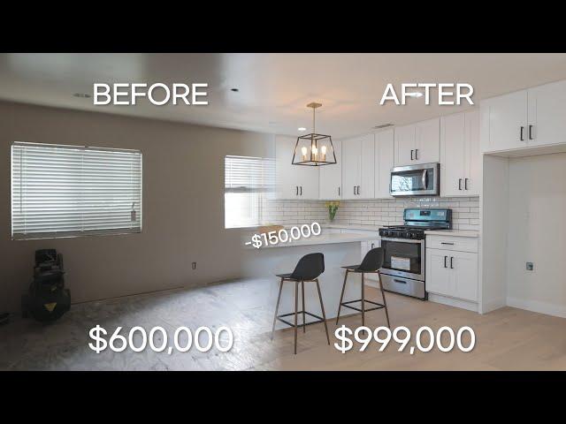 LA 단독주택 공사비 15만불로 60만불에서 99만불로 주택가치상승 I 5 BED 4 BATH 2500 sqft
