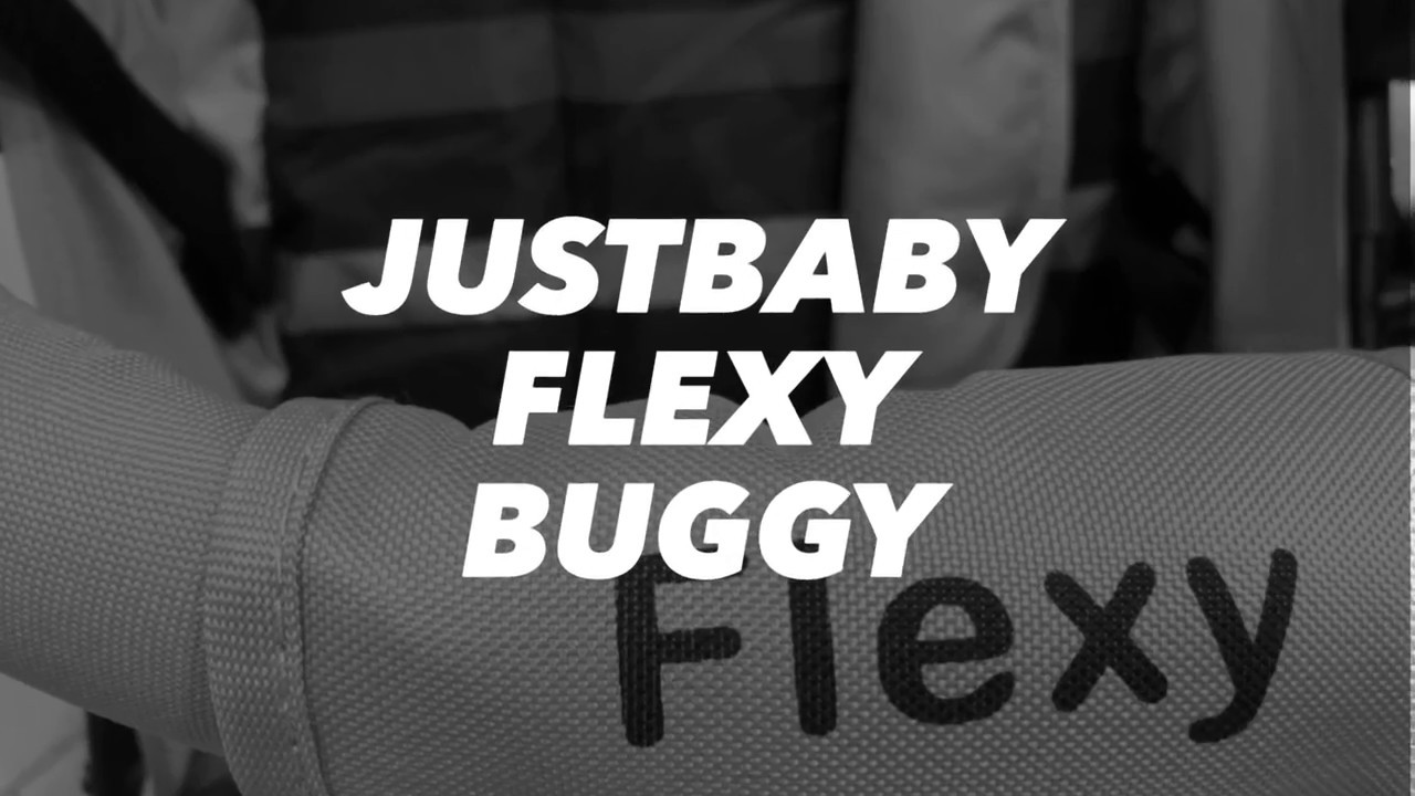 f6a0153847d Just Baby Flexy Καρότσι Μπαστούνι - YouTube