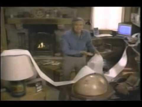 Atari XL computer modem commercial with Alan Alda - modem