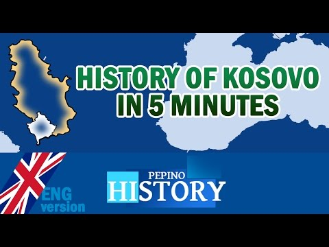 History of KOSOVO in 5 minutes