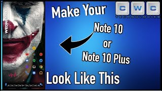 Amazing New Tips / Tricks to Customize Your Note 10 or 10 Plus Home Screen - Full Walkthrough!