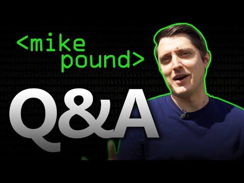 Mike Pound Q&A - Computerphile
