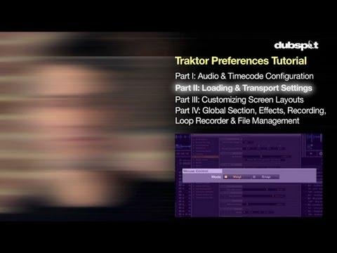 Traktor Pro Guide - Preferences Pt 2/4: Loading and Transport Settings