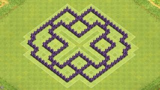 Clash of Clans Town Hall 7 Defense (CoC TH7) BEST Farming Base Layout Defense Strategy