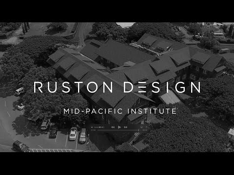 Drone Shoot: Roofing work of Mid-Pacific Institute for MRC Roofing Hawaii