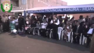 Inauguración de la Av. Jorge Chavez en el Distrito de Hualmay - 2013