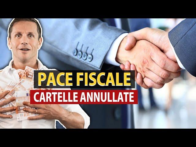 Pace fiscale: annullate anche le cartelle oltre mille euro | avv. Angelo Greco | Questa è la legge