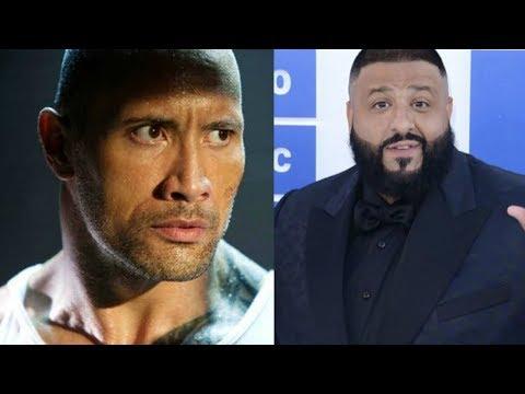 Dwayne Johnson RESPONDS TO Dj Khaled rude comments